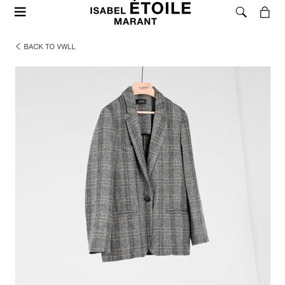 f5f51dc248774 Isabel Marant Etoile Charly tweed blazer